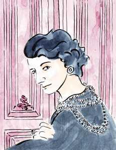 Paris France Portrait Coco Chanel Barbara Redmond Mississippi Alliance Française Minneapolis