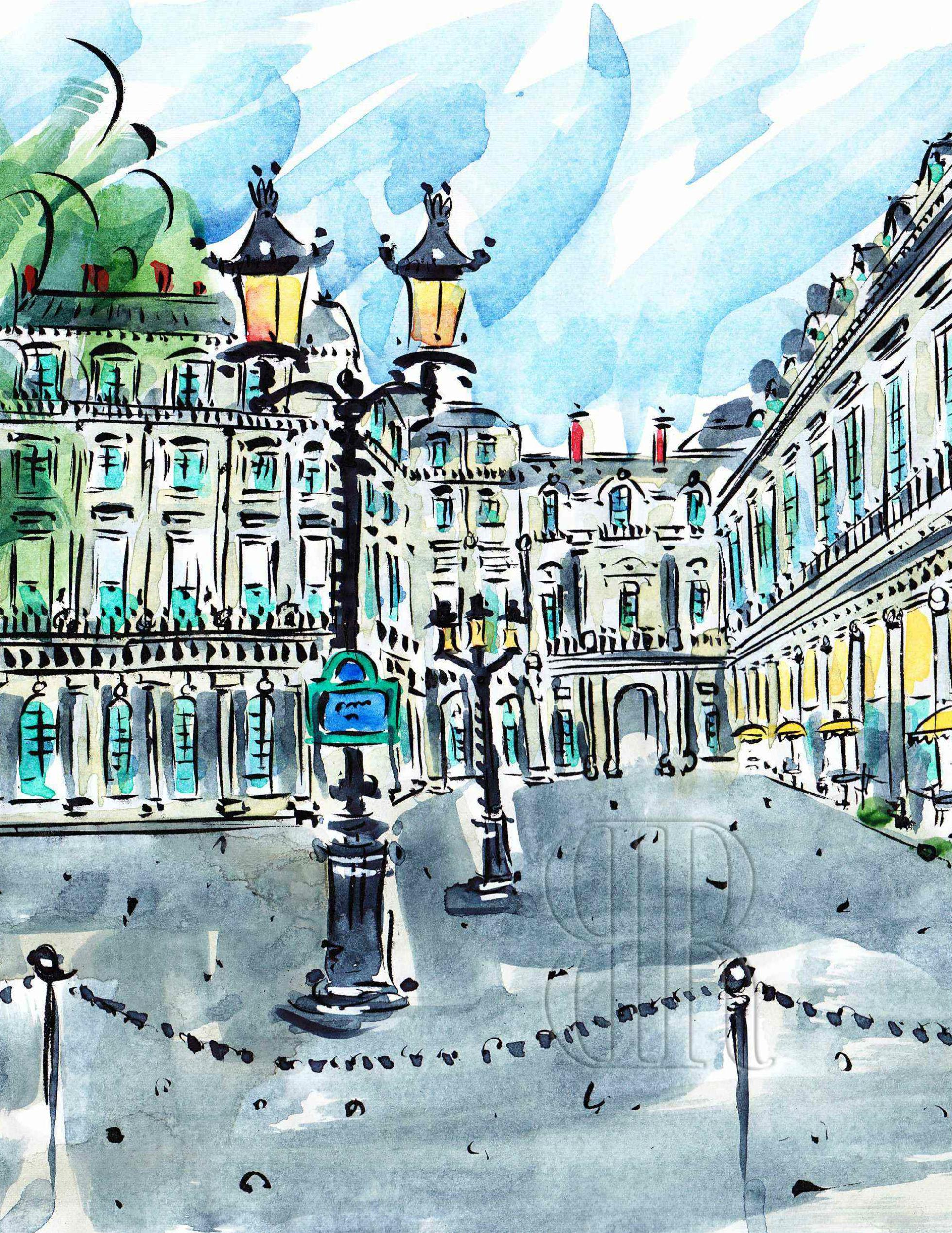 Paris gables photo seems