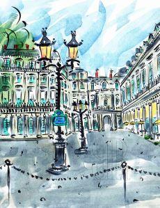 Place Colette, Paris, by Barbara Redmond