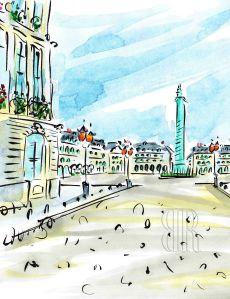 Place Vendôme, Paris, by Barbara Redmond
