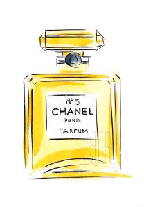 Chanel No.5, by Barbara Redmond fine art paintings of Paris