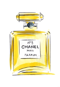 Chanel No.5, Paris by Barbara Redmond fine art paintings of Paris