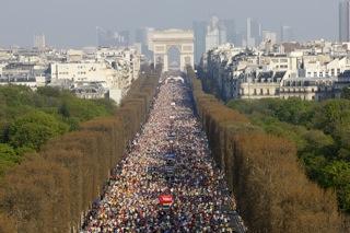 Paris Marathon, April 2011 Paris Marathon, April 2011