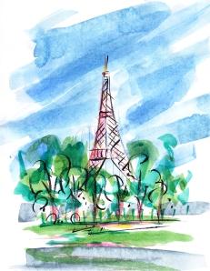 Eiffel Tower, Paris, France, Barbara Redmond, boulangerie Poilâne, travel, gifts