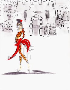 Carmen, from the opera, by Barbara Redmond
