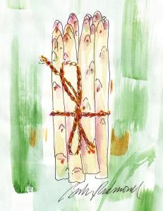 French White Asparagus, by Barbara Redmond