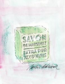 Savon de Marseille, by Barbara Redmond