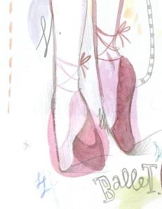 Paris ballet, by Michelle Schwartzbauer