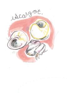 Escargot, by Michelle Schwartzbauer