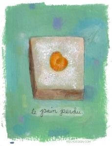 Le Pain Perdu, by Michelle Schwartzbauer
