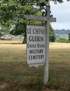 Le Chêne Guérin Military Cemetery