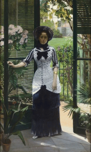 Albert Bartholomé (1848-1926) In the Greenhouse (c. 1881). Oil on canvas. h. 223; W. 142 cm Paris, Musée d'Orsay