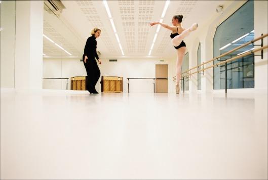 Brooke and Olga, Académie Américaine de Danse de Paris